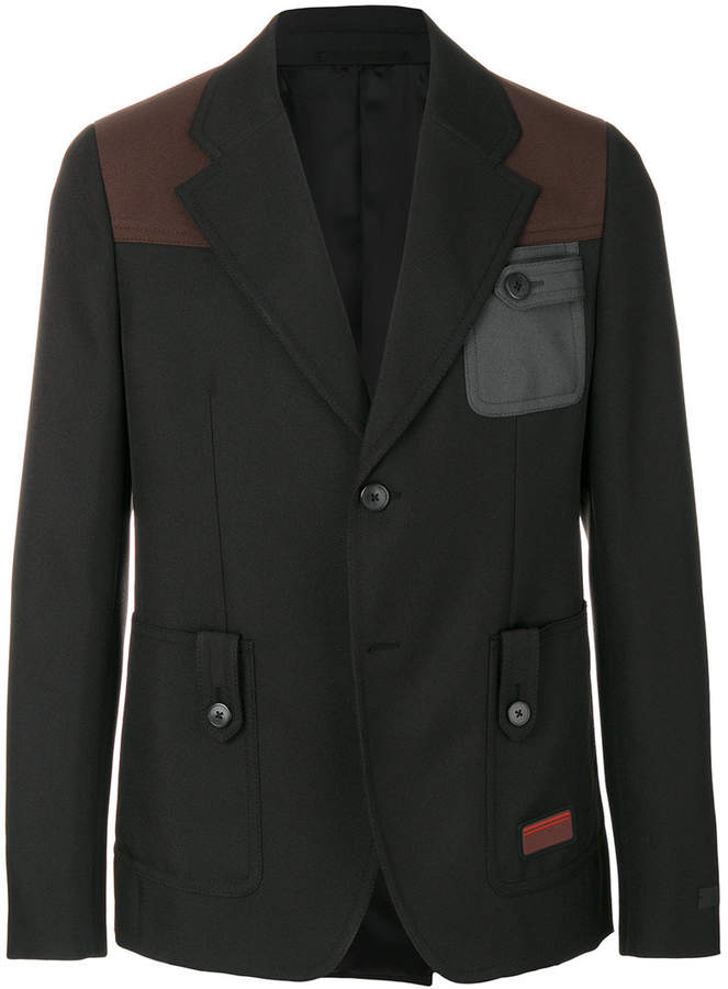 Prada colour block jacket