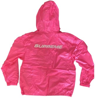 Supreme Pink Synthetic Jackets