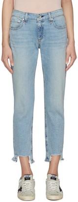 Rag & Bone/JEAN DRE' Step Hem Boyfriend Jeans