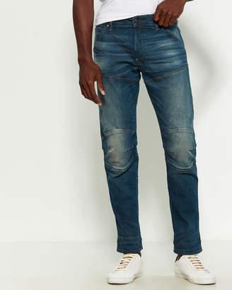 G Star Raw 5620 3D Slim Fit Moto Jeans