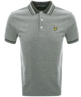 Lyle & Scott Oxford Polo T Shirt Green