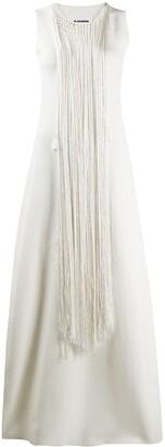 Jil Sander Tassel Detail Maxi Dress