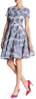 NUE by Shani Full Skirt Floral Dress