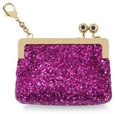 Sophie Hulme Sydney Suede Lined Glitter Coin Purse