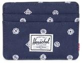 Herschel Men's Charlie Rfid Card Case - Blue