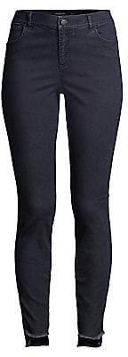 Lafayette 148 New York Women's Mercer Step Hem Skinny Jeans - Size 0