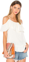 VAVA by Joy Han Nala Ruffle Top
