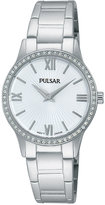 Pulsar Women's Dress Sport Stainless Steel Bracelet Watch 28mm PM2171