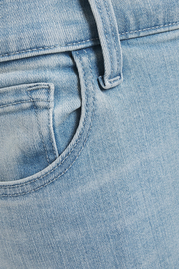 Thumbnail for your product : J Brand Cropped Frayed Mid-rise Skinny Jeans