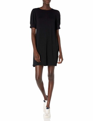 Daily Ritual Supersoft Terry Puff-Sleeve Dress