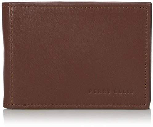 Perry Ellis Men's Portfolio Front Pocket RFID Blocking Wallet