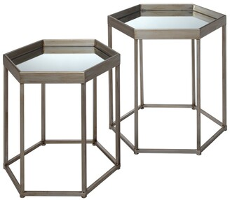 Jamie Young Sophia Set Of 2 Side Tables