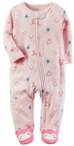 Carter's Owl-Print Footed Coverall, Baby Girls (0-24 months)