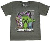 Mojang Minecraft Evil Mob Boys' Youth T-shirt (Large, 10/12)