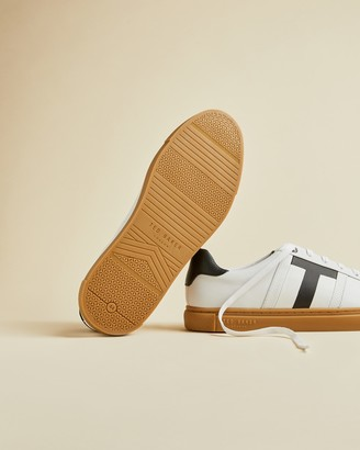 Ted Baker TENPAR Branded leather trainers
