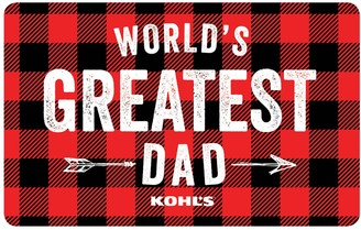 Web Card World's Greatest Dad Gift Card