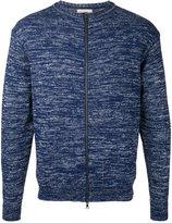 Factotum slub knit zipped sweatshirt - men - Cotton/Nylon - 46