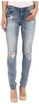 Blank NYC Denim Distressed Skinny Jeans in Denim Blue