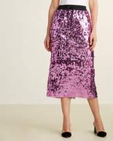 Ter Et Bantine Sequined Midi Skirt