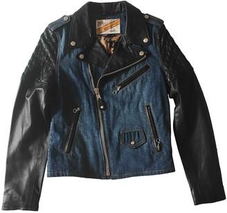 Schott Blue Denim - Jeans Leather jackets
