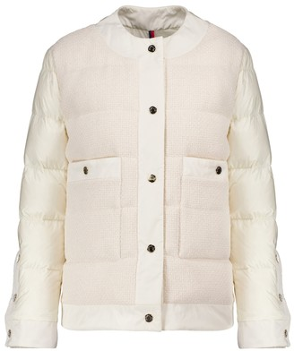 Moncler Miram cotton-trimmed down jacket