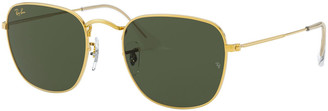 Ray-Ban Men's Square Metal Sunglasses