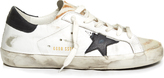 Golden Goose Deluxe Brand Super Star low-top animal-print leather trainers