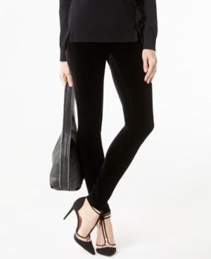 INC International Concepts Inc Velvet Skinny Pants, Created for Macy's
