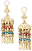 Nanette Lepore Beaded Tassel Earrings