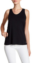 Susina Shirred Back Tank (Petite)