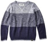Cherokee Boy's Long-Sleeve Sweater with Dorito Stitch Detail