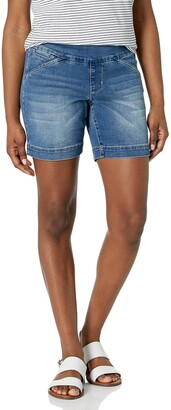 "Jag Jeans Women's Petite Ainsley 7"" Pull on Short"