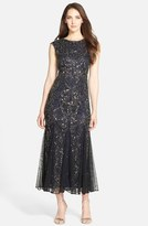 Pisarro Nights Beaded Mermaid Dress (Regular & Petite)