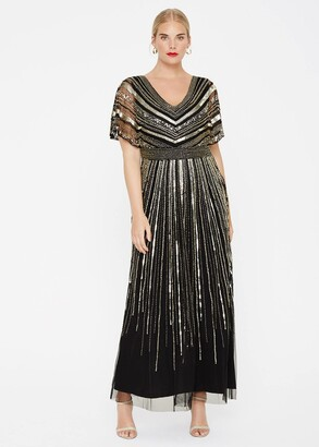 Phase Eight Avalon Beaded Maxi Dress