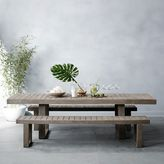 west elm Portside Expandable Dining Table - Weathered Gray