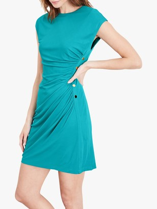 Damsel in a Dress Kimi Ruched and Button Detail Dress