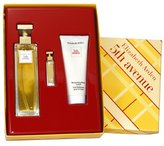 Elizabeth Arden 5th Avenue By For Women. Gift Set (eau De Parfum Spray 4.25 Oz+ Parfum 3.7 Ml + Body Lotion 3.3 Oz )
