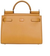 Dolce & Gabbana Small Sicily 62 Bag In Calf Leather