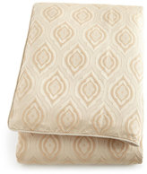 Isabella Collection Queen Monfort Ivory/Gold Ogee Duvet Cover