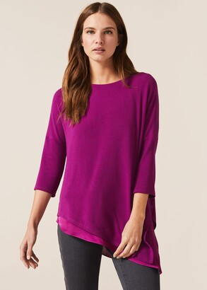 Phase Eight Maisha Asymmetric Double Layer Top