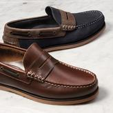 Charles Tyrwhitt Brown Oakham boat shoes