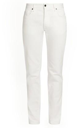 Fendi Slim-Fit Circle FF Logo Jeans