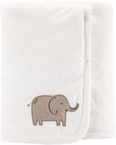 Carter's Baby Elephant Plush Blanket