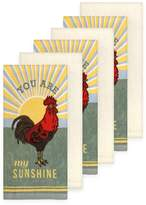 The Big One Rooster Kitchen Towel 6-pack