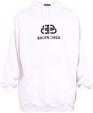 Balenciaga Branded Hoodie
