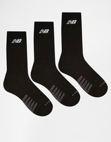 New Balance 3 Pack Crew Socks