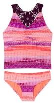 Gossip Girl Girl's Boho Sunset Two-Piece Tankini Swimsuit