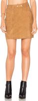 Michael Stars A Line Mini Skirt