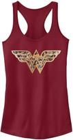 Licensed Character Juniors' DC Comics Wonder Woman Symbol Fill Tank Top