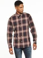 Selected Long Sleeved Check Shirt
